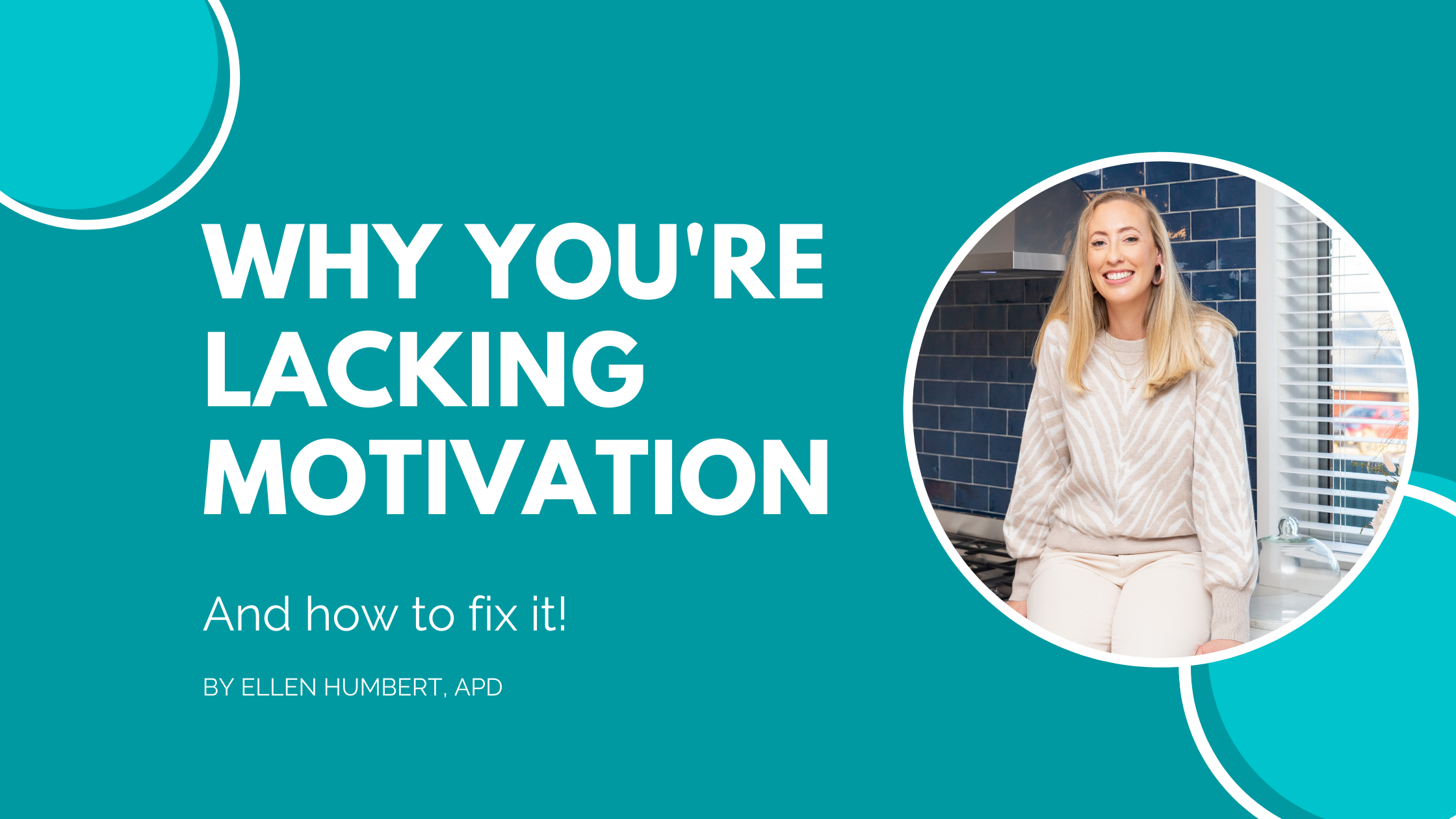 lacking motivation? here's how to get it back for weight loss